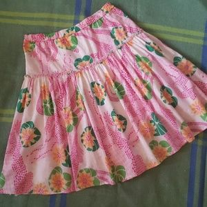 Lily  Pulitzer alligator print skirt